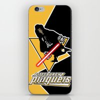 pittsburgh iPhone & iPod Skins featuring Pittsburgh Plagueis by Ant Atomic