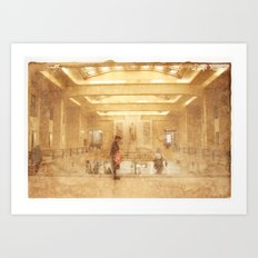 Central Station - Gare Centrale Art Print