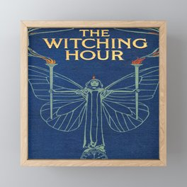 The Witching Hour Book Framed Mini Art Print
