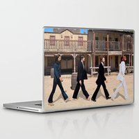 downton abbey Laptop & iPad Skins featuring Abbey road by eARTh