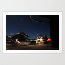 Bule Sky Art Print