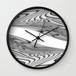 Twin Beans Wall Clock