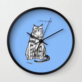 I'm a delight Wall Clock