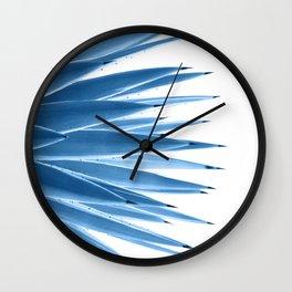 Classic Blue Agave Dream #1 #tropical #decor #art #society6 Wall Clock