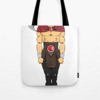 viking Tote Bags featuring viking by kureiii