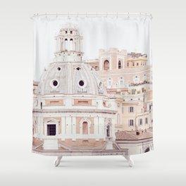 Pale Rome Shower Curtain