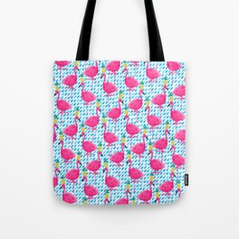 Party Flamingos Tote Bag
