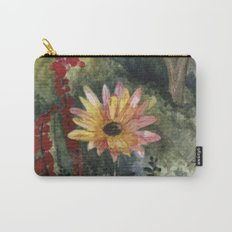Vibrant Blossom Carry-All Pouch