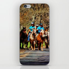 Horses Going Home iPhone Skin