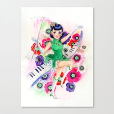 Majorette Direction Canvas Print
