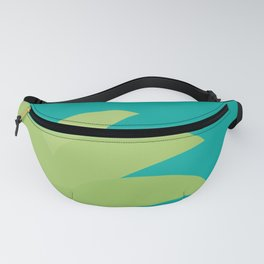 Hello Summer cute funny kawaii exotic fruit pineapple with sunglasses Fanny Pack