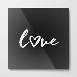 love Metal Print