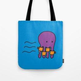 Swimming Octopus Tote Bag