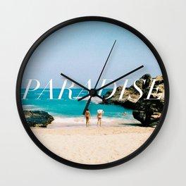 PARADISE COVE Wall Clock