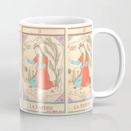 Tarot card-The Popess-The High Priestess-La Papesse Coffee Mug