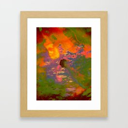 Colour on Colour on Coloursplash  Framed Art Print
