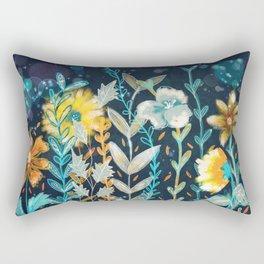 Fall Floral Rectangular Pillow