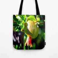 pomegranate Tote Bags featuring pomegranate by  Agostino Lo Coco