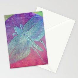 Distressed Grasshopper Stationery Cards