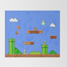Mario Throw Blanket