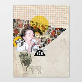 Gourmandise Canvas Print
