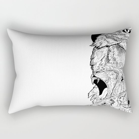 Animal totem Rectangular Pillow