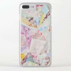 Abstract painting 25 Clear iPhone Case