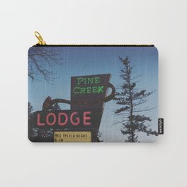 Pine Creek Lodge Carry-All Pouch