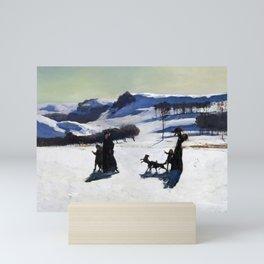 Rockwell Kent - Snow Fields, 1909 Mini Art Print