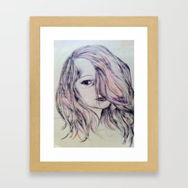 Longing to Grow Up Framed Art Print