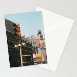 Corner Lafayette Street Stationery Cards