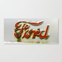 ford Canvas Prints featuring Ford by P.Andres