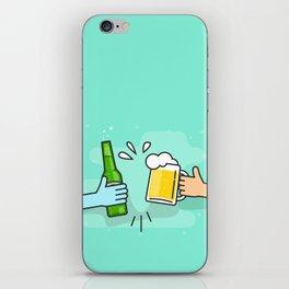 Beer understands! iPhone Skin