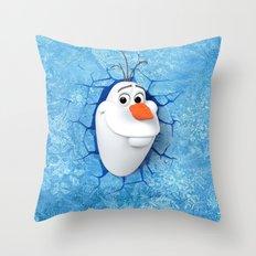 Olaf Throw Pillow