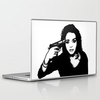 lindsay lohan Laptop & iPad Skins featuring Lindsay Lohan. by 161926