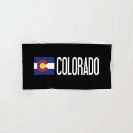 Colorado: Coloradan Flag & Colorado Hand & Bath Towel