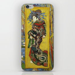 "Vincent van Gogh ""The Courtesan (after Eisen)"" iPhone Skin"