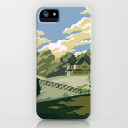 Greene Farm, GA / The Walking Dead iPhone Case