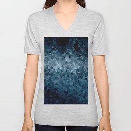 Blue Cristals Unisex V-Neck