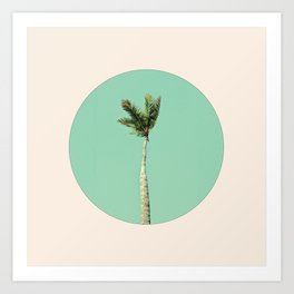 The Palm Life Art Print