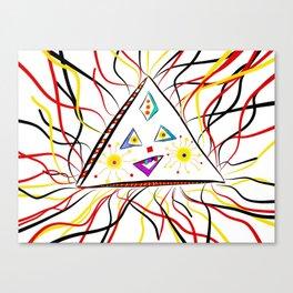 Trina Triangle Canvas Print