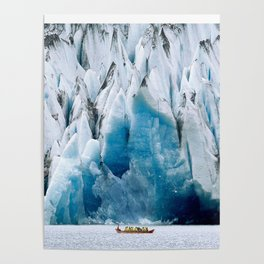 Ride to the Alaskan Glacier Poster