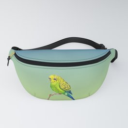 Cute budgie Fanny Pack