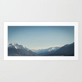 Mount Cook from Ohau Art Print