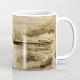 Ghost Flight- Amelia Earhart Sepia Coffee Mug