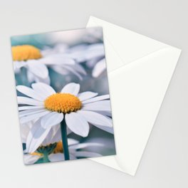 Marguerite blue 032 Stationery Cards
