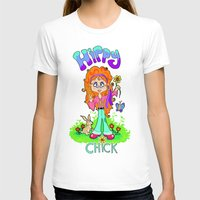 hippy T-shirts featuring Hippy Chick by Melissa Morrison