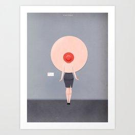 Active Spectator Art Print