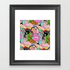 Turkey Hand pattern Framed Art Print