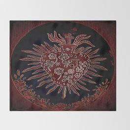 Sacred Heart Throw Blanket
